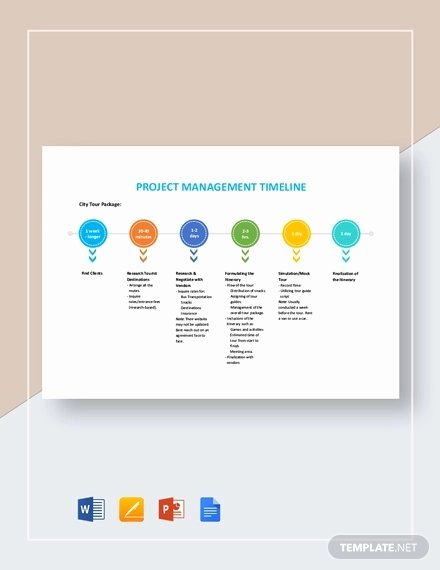 Project Timeline Template Word Beautiful Timeline Template 71 Free Word Excel Pdf Ppt Psd
