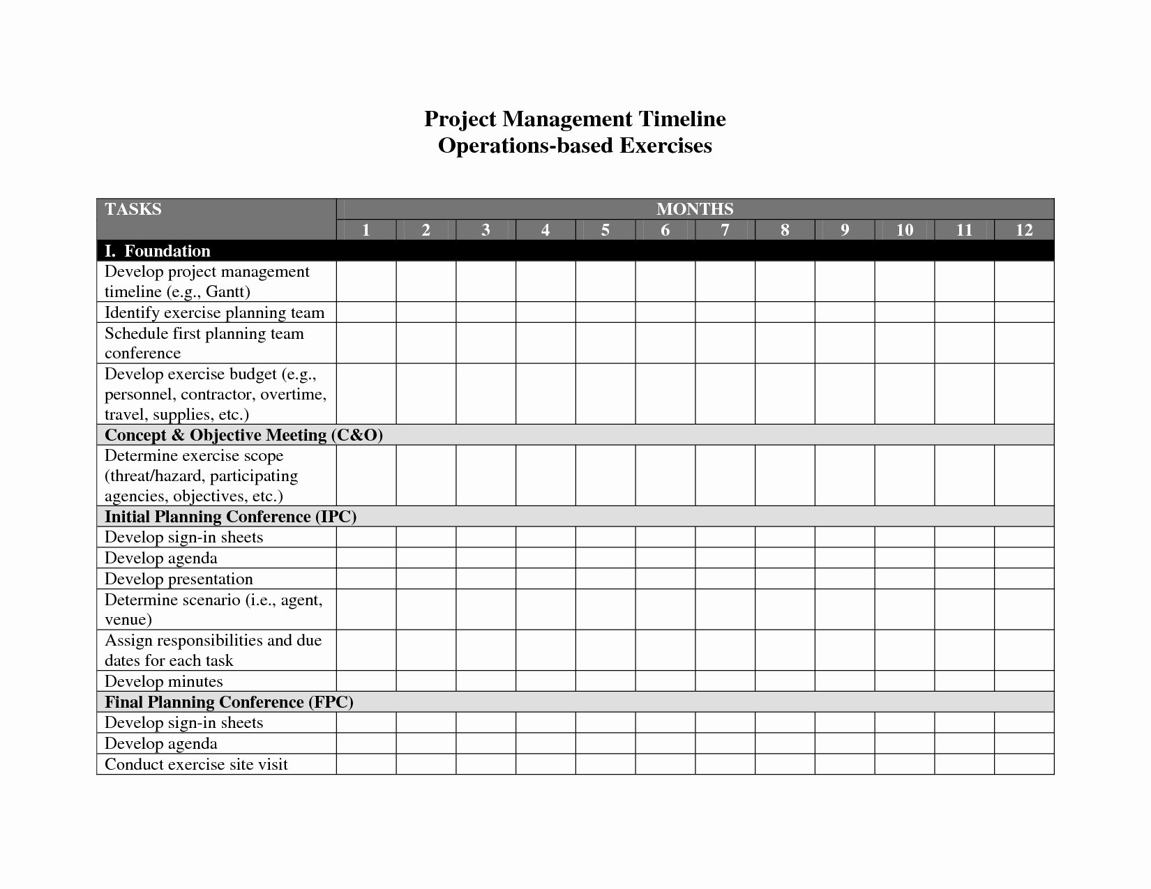 Project Timeline Template Word Best Of Project Management Templates In Word Example Of Spreadshee
