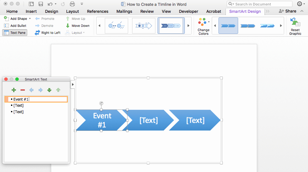 Project Timeline Template Word Fresh How to Make A Timeline In Word & Free Template