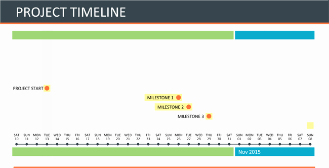 Project Timeline Template Word Fresh Project Timeline Template for Excel and Word