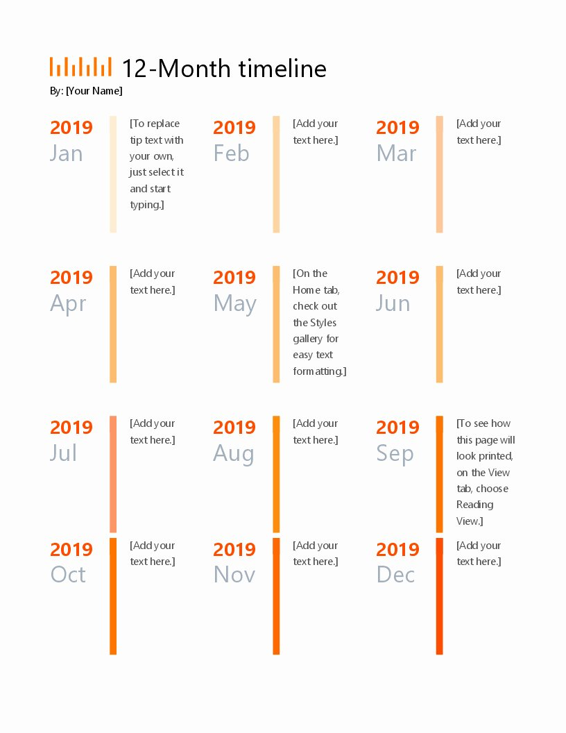 Project Timeline Template Word Luxury Project Timeline Template Ppt Freespreadsheet Template