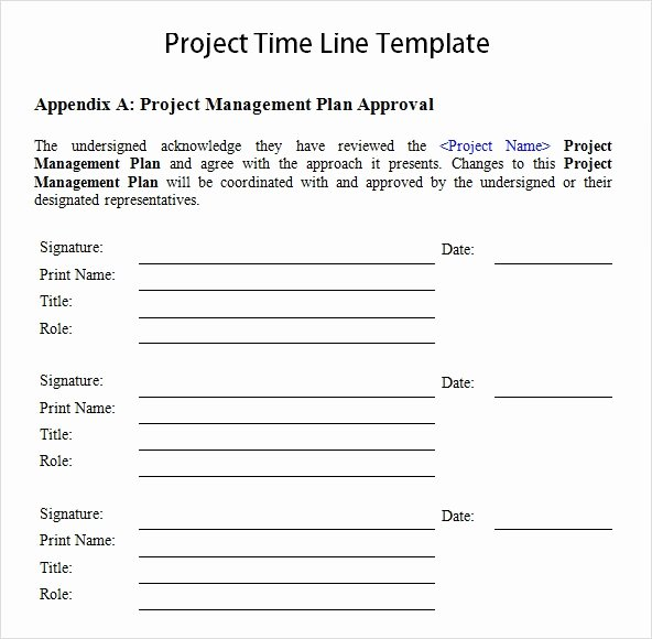 Project Timeline Template Word Unique Free 10 Sample Project Timeline Templates In Word