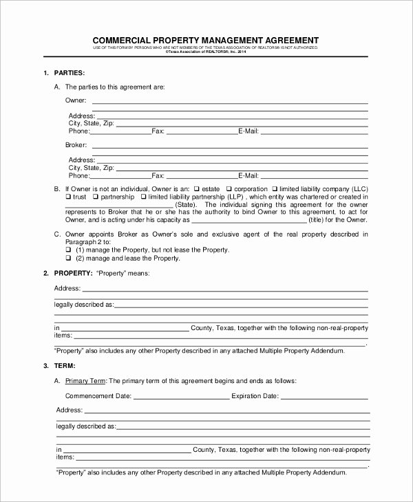 Property Management Agreement Pdf Lovely Sample Property Management Agreement 9 Documents In Pdf