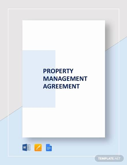 Property Management Agreement Pdf New Sample Management Agreement 16 Free Documents In Pdf Word