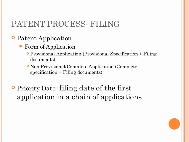 Provisional Patent Application form Beautiful Patent & Design Protection