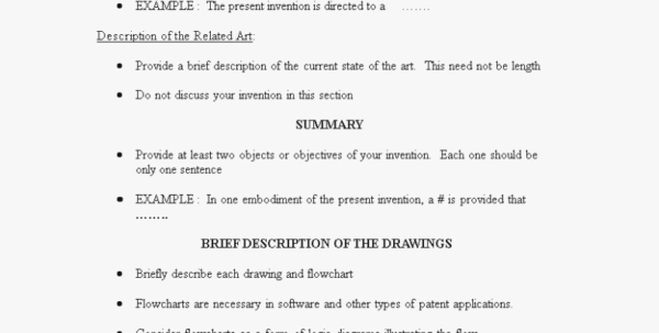 Provisional Patent Application form Fresh Provisional Patent Application form Application for