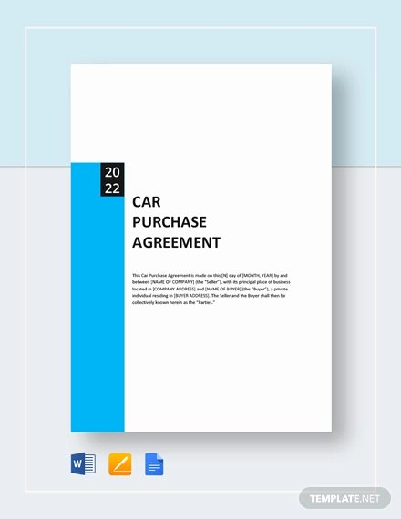 Purchase Agreement Template Word Best Of Purchase Agreement Template 28 Free Word Pdf Document