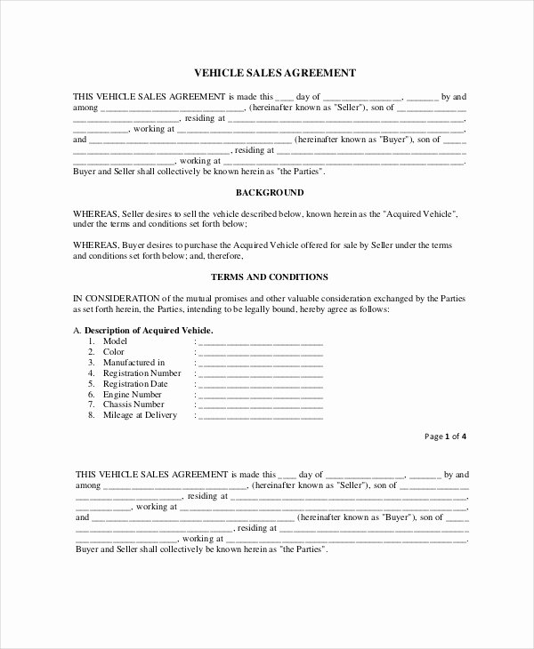 Purchase Agreement Template Word Lovely Template for Purchase and Sale Agreement the 10 Secrets