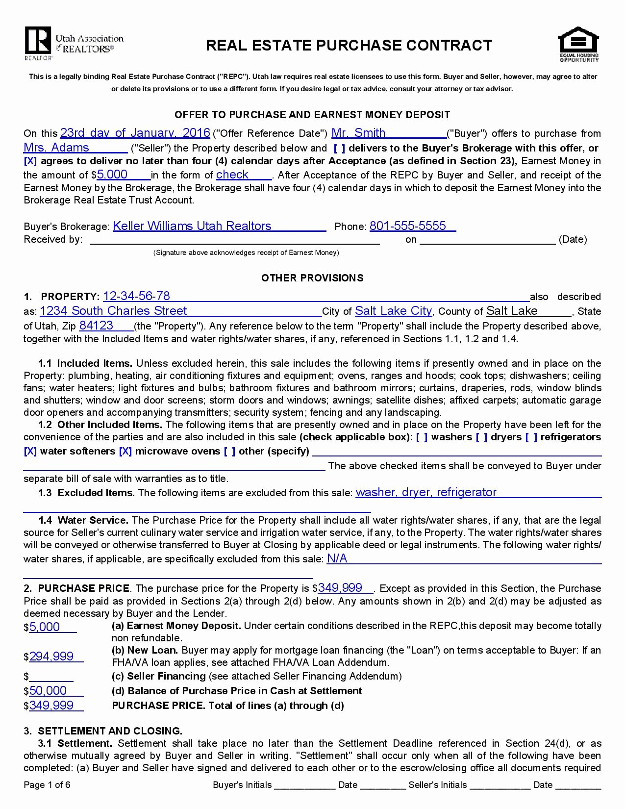Real Estate Contract Template Elegant Real Estate Purchase Agreement Template