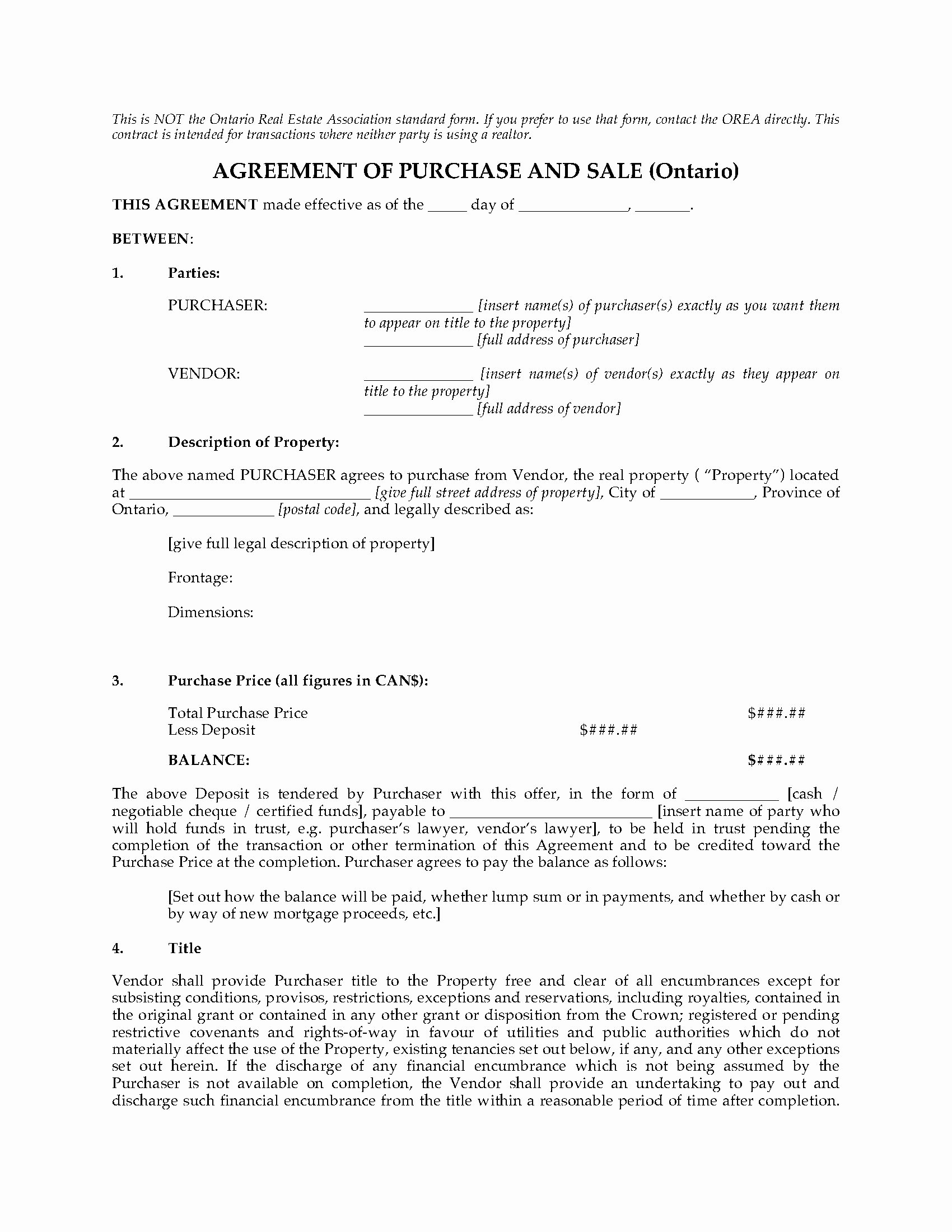 Real Estate Contract Template Elegant Real Estate Sales Contract Template