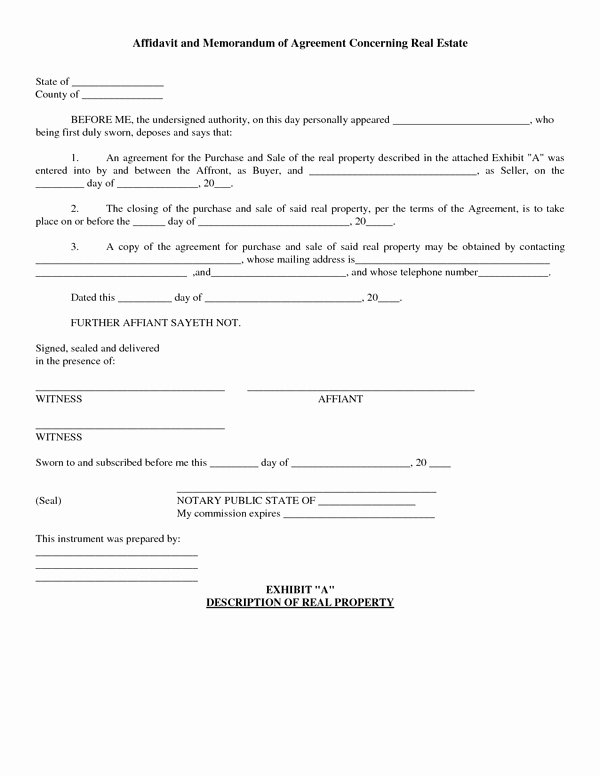 Real Estate Contract Template Inspirational Agreement to Purchase Real Estate form Free Free