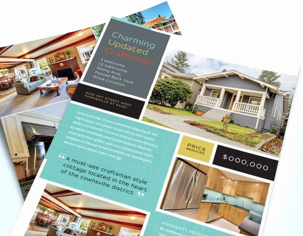 Real Estate Flyer Ideas Awesome 1000 Images About Real Estate Flyers On Pinterest