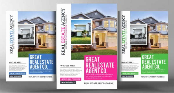 Real Estate Flyer Ideas Awesome 24 Real Estate Flyer Designs