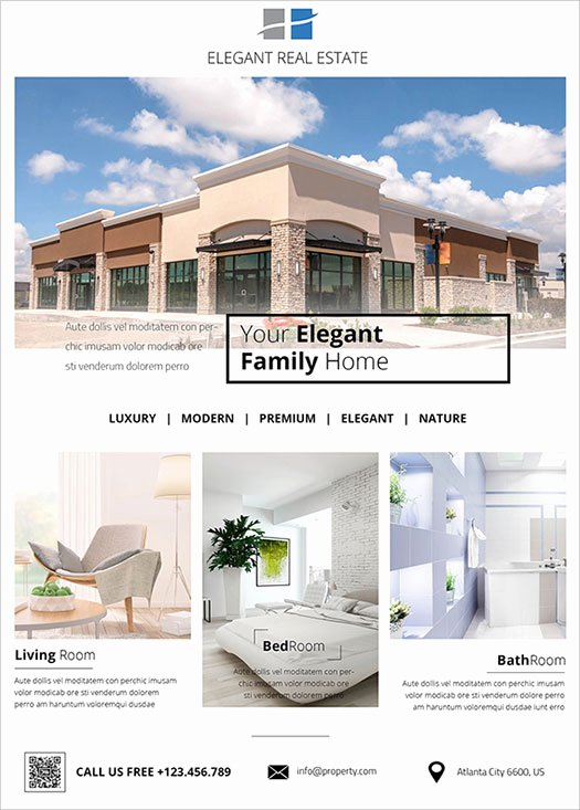 Real Estate Flyer Ideas Elegant 2017 Modern 20 Flyer Designs for Inspiration
