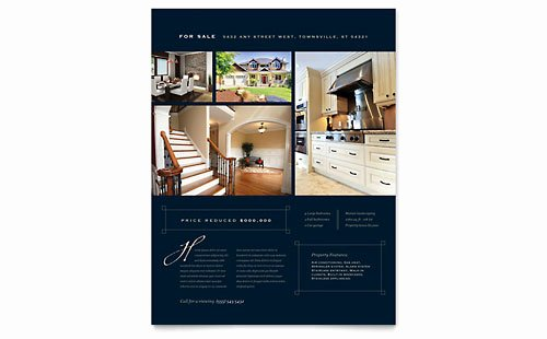 Real Estate Flyer Ideas Elegant Real Estate Marketing Brochures Flyers Postcards