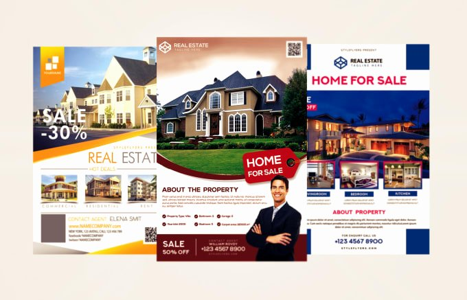 Real Estate Flyer Ideas Fresh Design Real Estate Flyer for You by Adeelkhan803