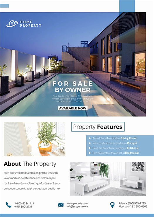 Real Estate Flyer Ideas Unique 2017 Modern 20 Flyer Designs for Inspiration