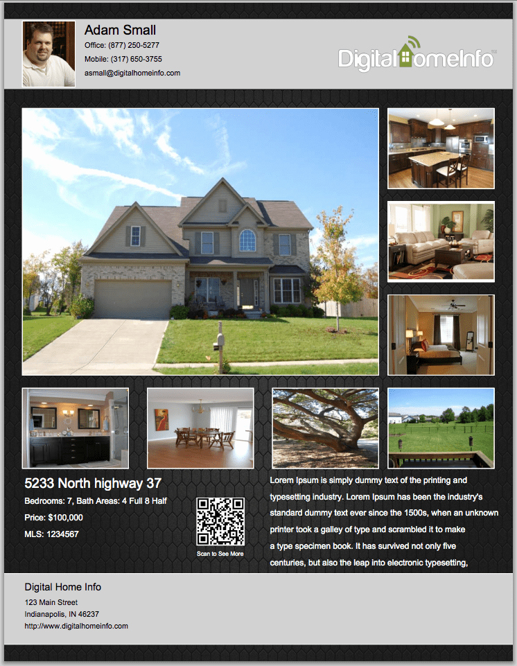 Real Estate Flyer Templates Awesome 13 Real Estate Flyer Templates Excel Pdf formats