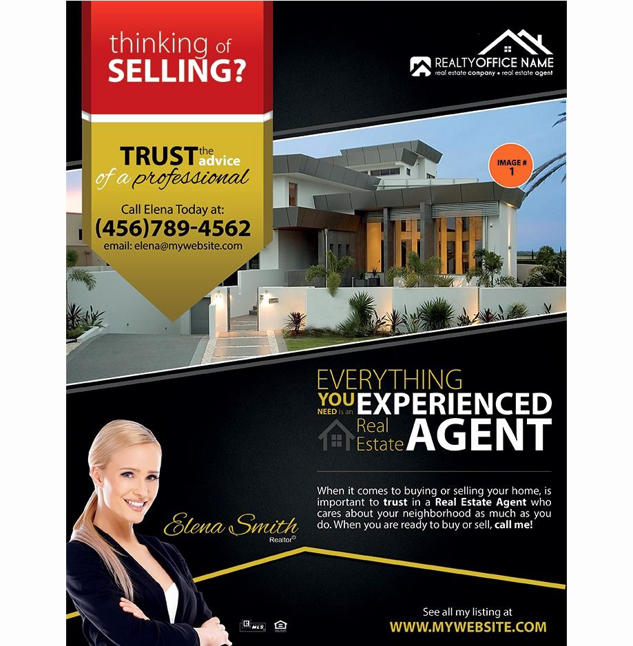 Real Estate Flyer Templates Awesome Real Estate Flyer Ideas Real Estate Agent Flyer Ideas