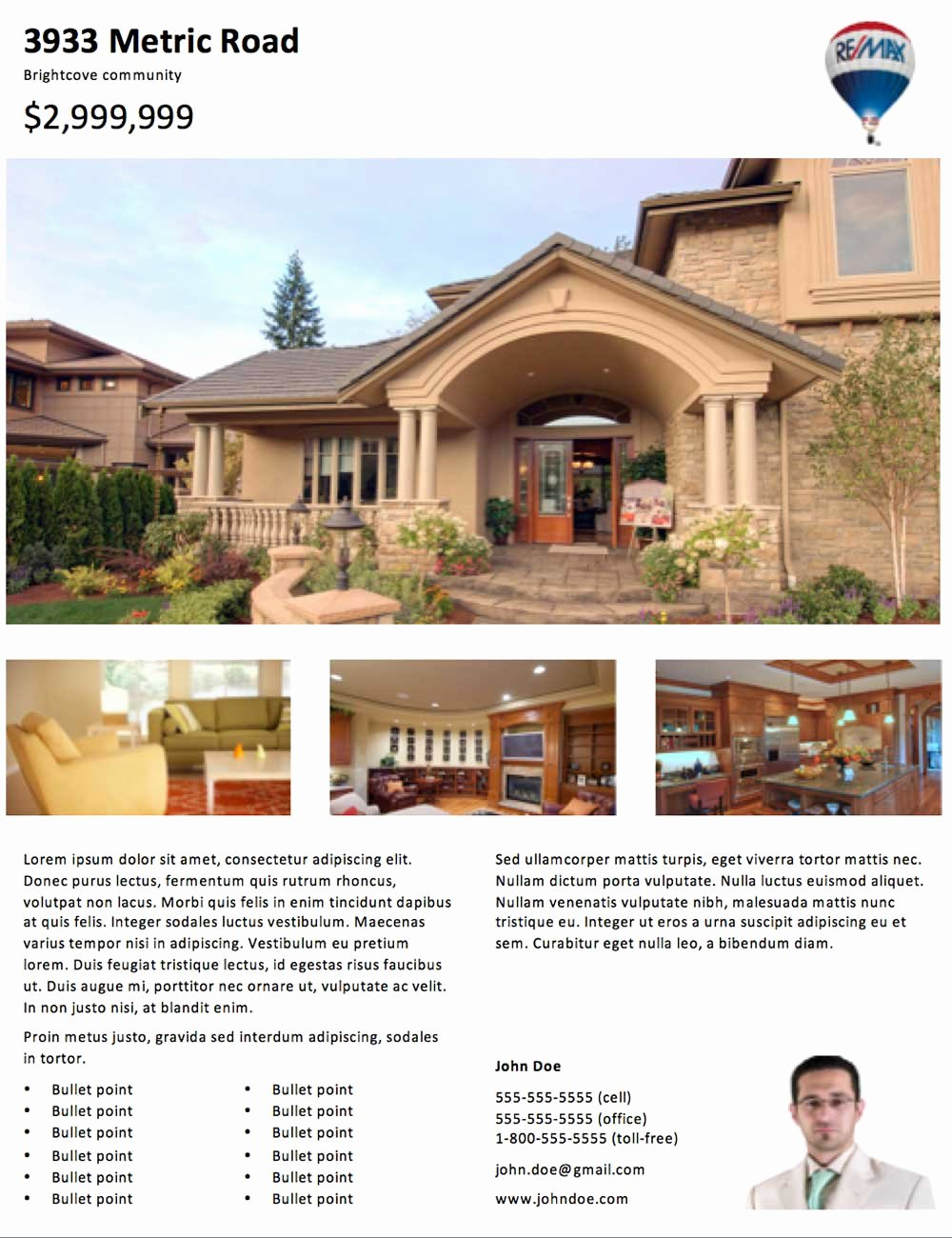 Real Estate Flyer Templates Awesome Real Estate Flyer Templates 29doors