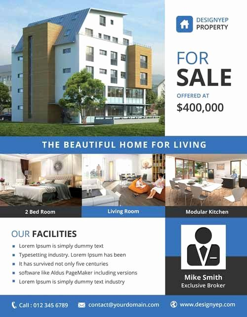 Real Estate Flyer Templates Awesome Real Estate Free Psd Flyer Template Ff