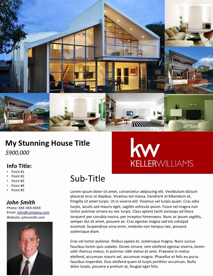 Real Estate Flyer Templates Beautiful Easy Agent Pro — New Real Estate Marketing Has Been