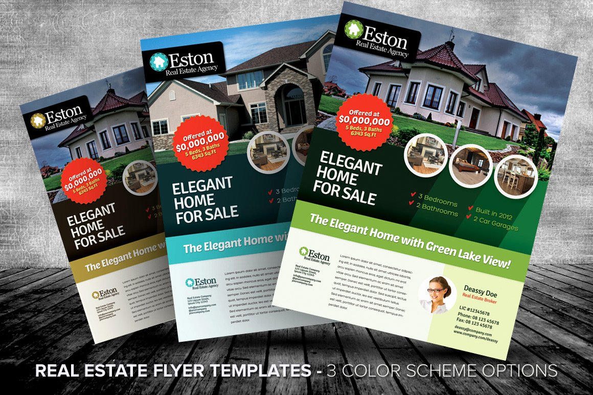 Real Estate Flyer Templates Best Of Listing Flyers for Real Estate Agents and Homeowners