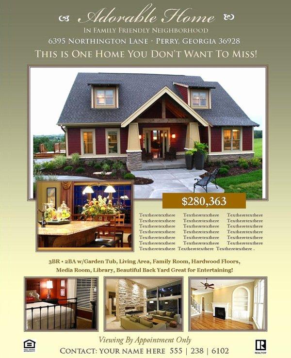 Real Estate Flyer Templates Elegant Real Estate Flyers – 30 Free Pdf Psd Ai Vector Eps