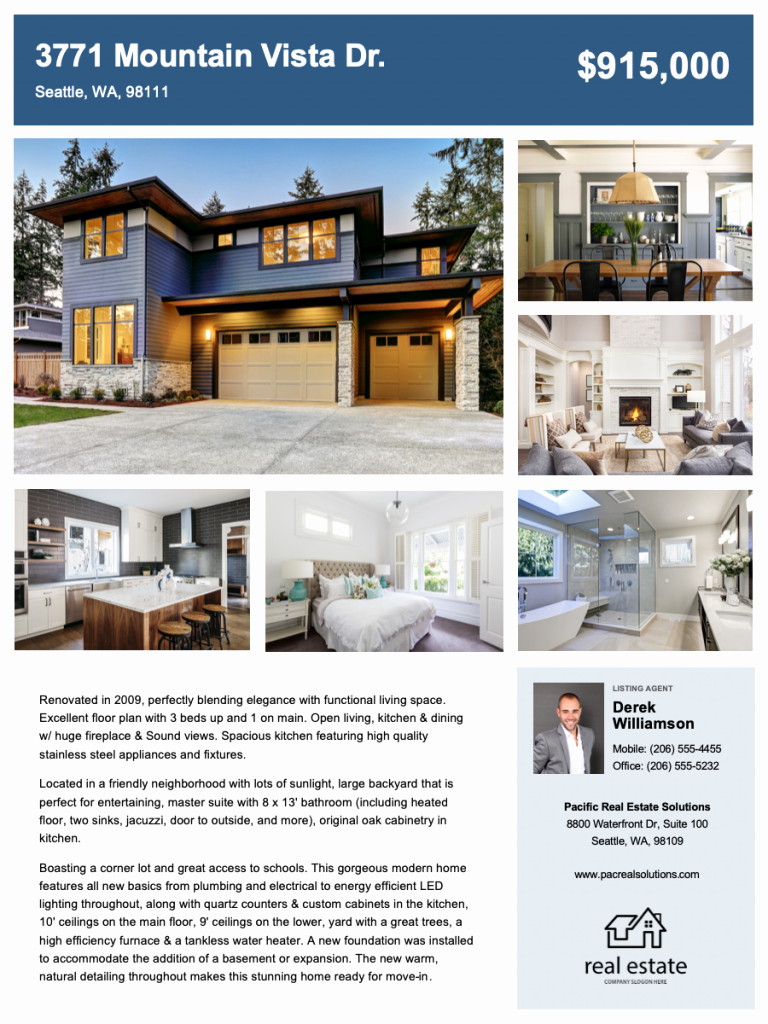 Real Estate Flyer Templates Fresh Free Download Real Estate Flyer Templates