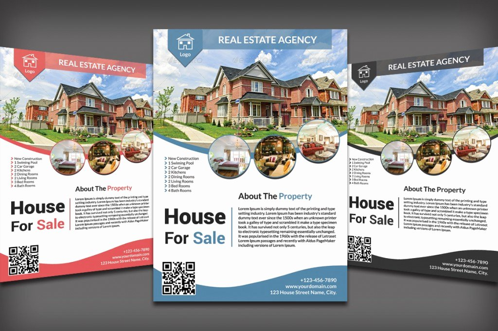 Real Estate Flyer Templates Fresh Listing Flyers for Real Estate Agents and Homeowners