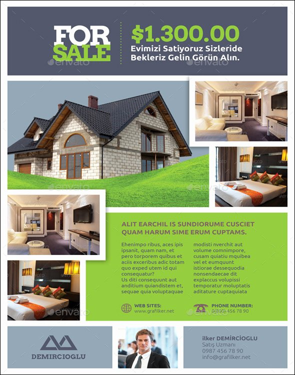 Real Estate Flyer Templates Inspirational 100 Free Real Estate Flyer Psd Templates Download