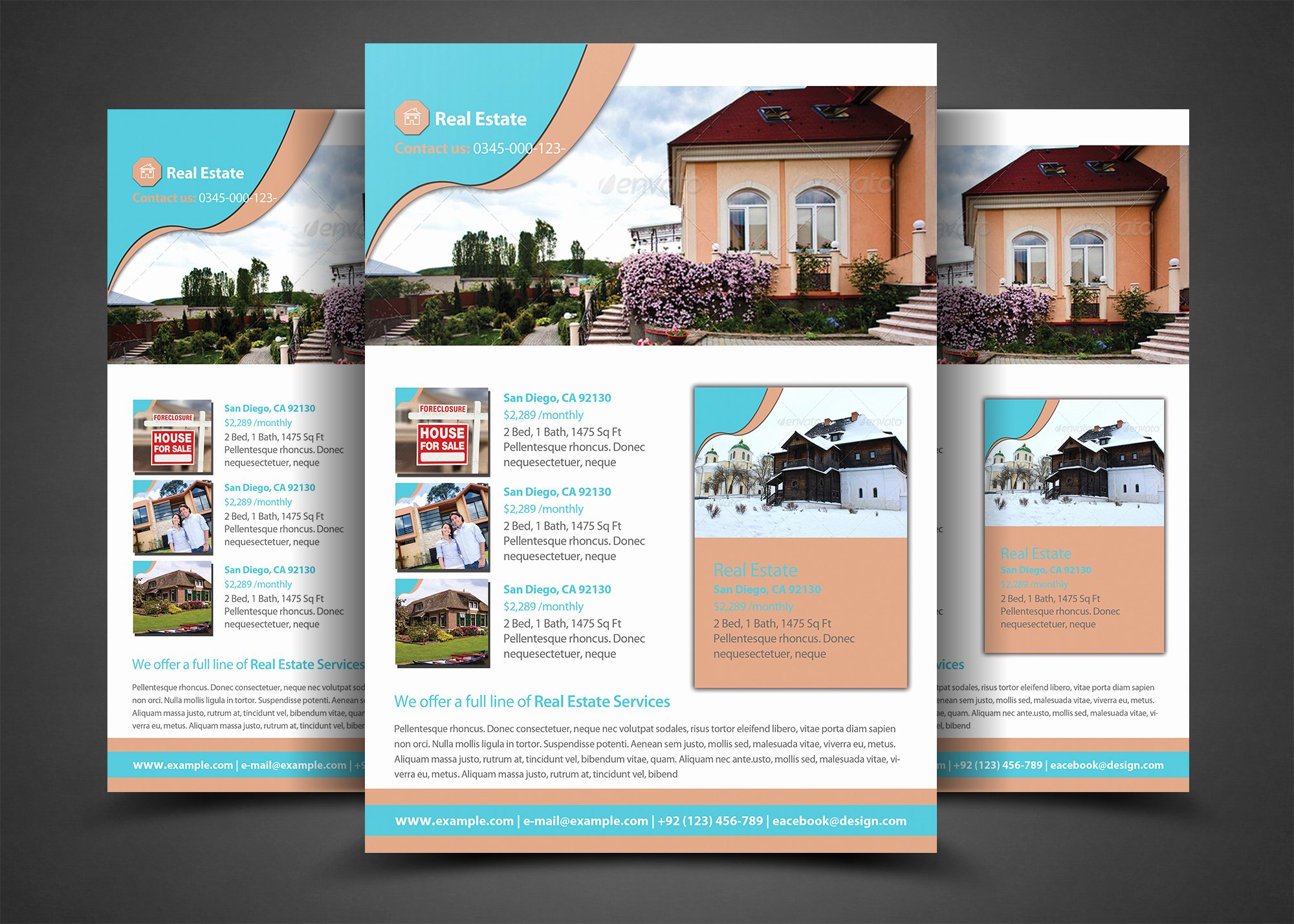Real Estate Flyer Templates Inspirational Pro Real Estate Flyer Template Flyer Templates On