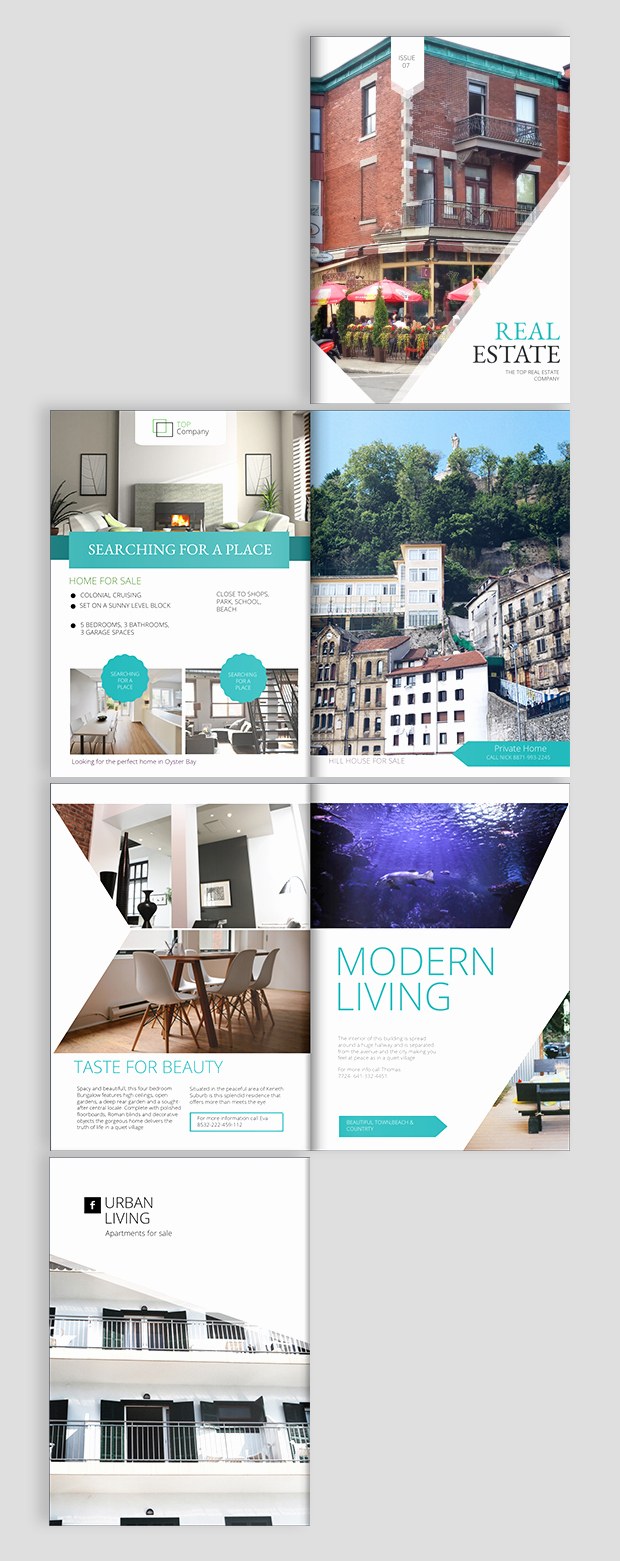 Real Estate Flyer Templates Inspirational Real Estate Brochure Design Templates and Ideas