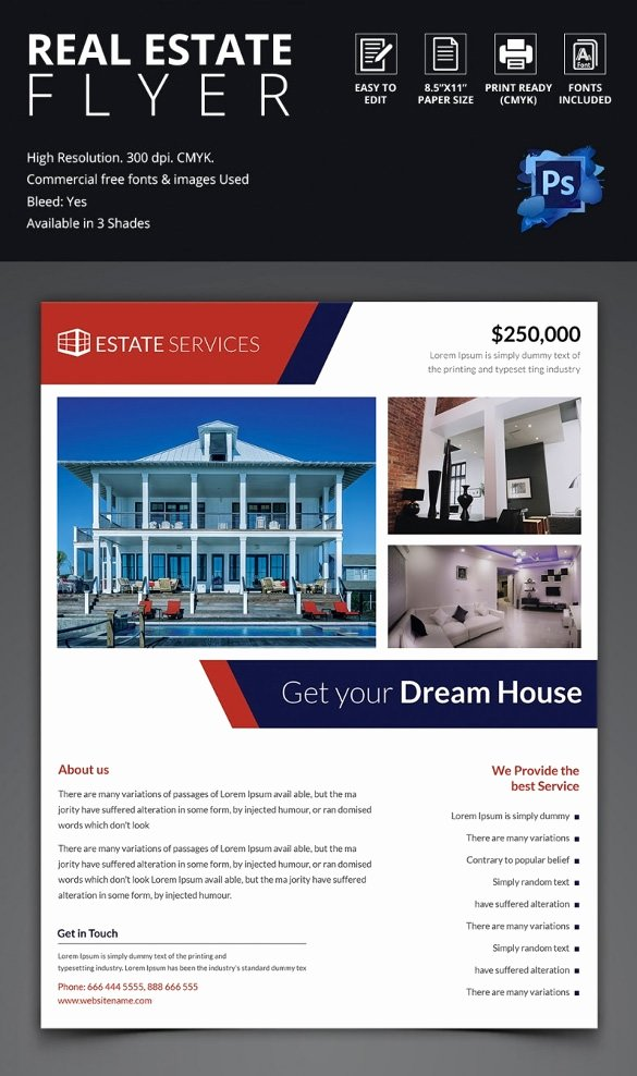 Real Estate Flyer Templates Lovely 41 Psd Real Estate Marketing Flyer Templates