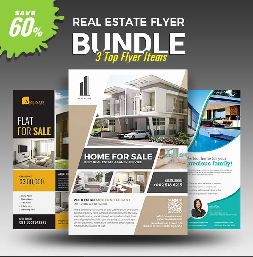 Real Estate Flyer Templates New Melody Nieves
