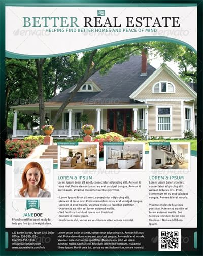 Real Estate Marketing Flyers Awesome 13 Real Estate Flyer Templates Excel Pdf formats