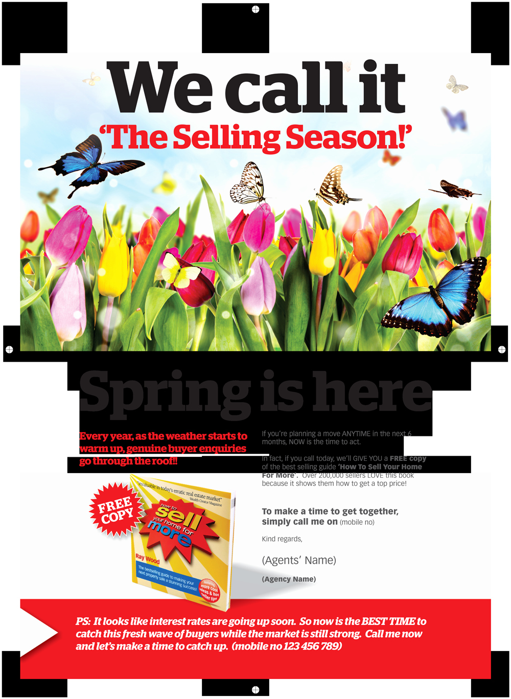 Real Estate Marketing Flyers Beautiful Lead Generator Flyer Selling In Spring Bestagentsinc