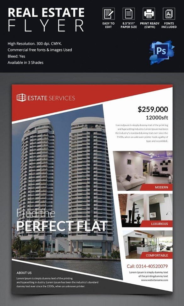 Real Estate Marketing Flyers Best Of 44 Psd Real Estate Marketing Flyer Templates