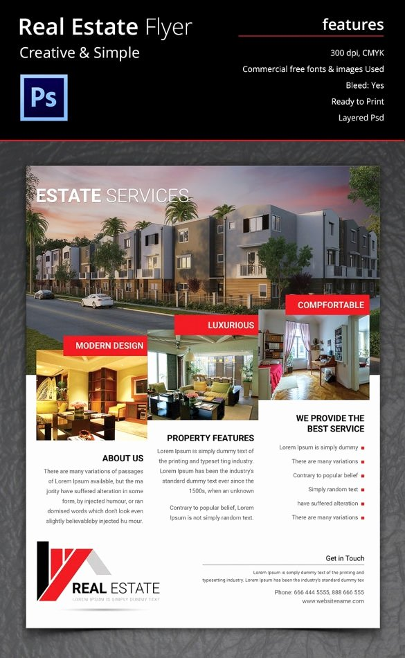 Real Estate Marketing Flyers Lovely 41 Psd Real Estate Marketing Flyer Templates