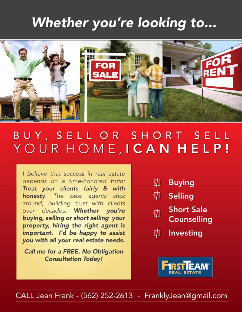 Real Estate Marketing Flyers Lovely 6 Best Of Mortgage Flyer Ideas Real Estate Agent