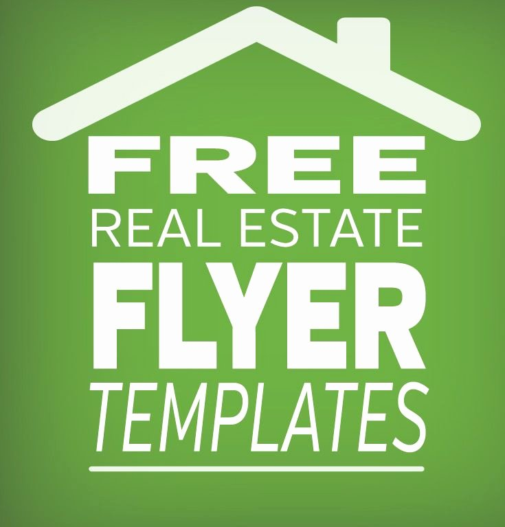 Real Estate Marketing Flyers Lovely Free Real Estate Flyer Template for Great