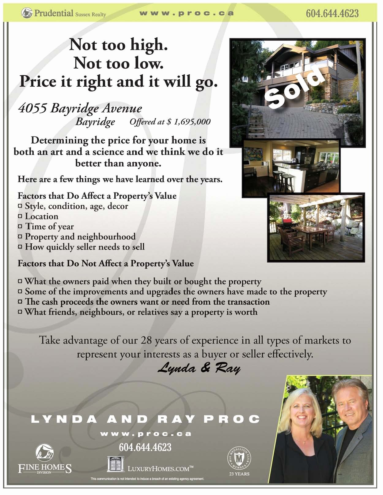 Real Estate Marketing Flyers Lovely Realtor Marketing Do Just sold Flyers Work