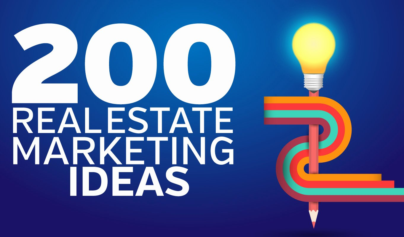 Real Estate Marketing Flyers Luxury 200 Real Estate Marketing Ideas to Get Your Leads