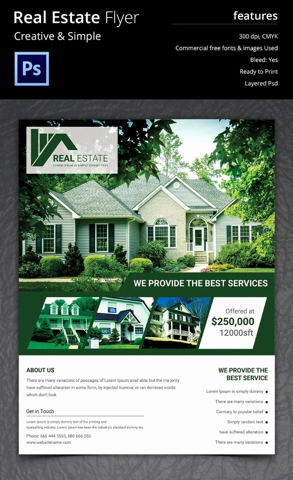 Real Estate Marketing Flyers Unique 44 Psd Real Estate Marketing Flyer Templates