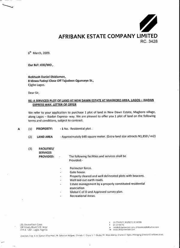 Real Estate Offer Letter Fresh Secret Documents Real Estate Developers Don T Want You to