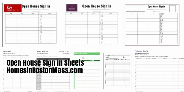 Real Estate Sign In Sheet Beautiful Open House Sign In Sheets for Keller Williams Realtors
