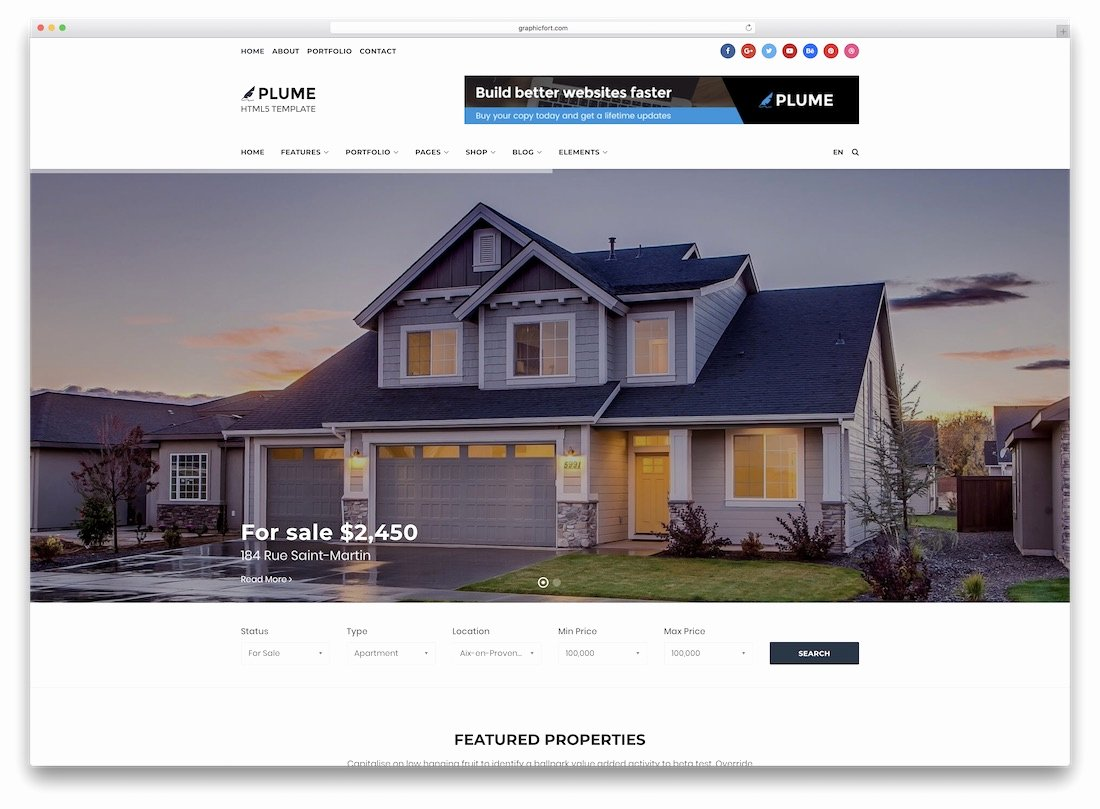 Real Estate Website Templates Awesome 24 top HTML5 Real Estate Website Templates 2019 Colorlib