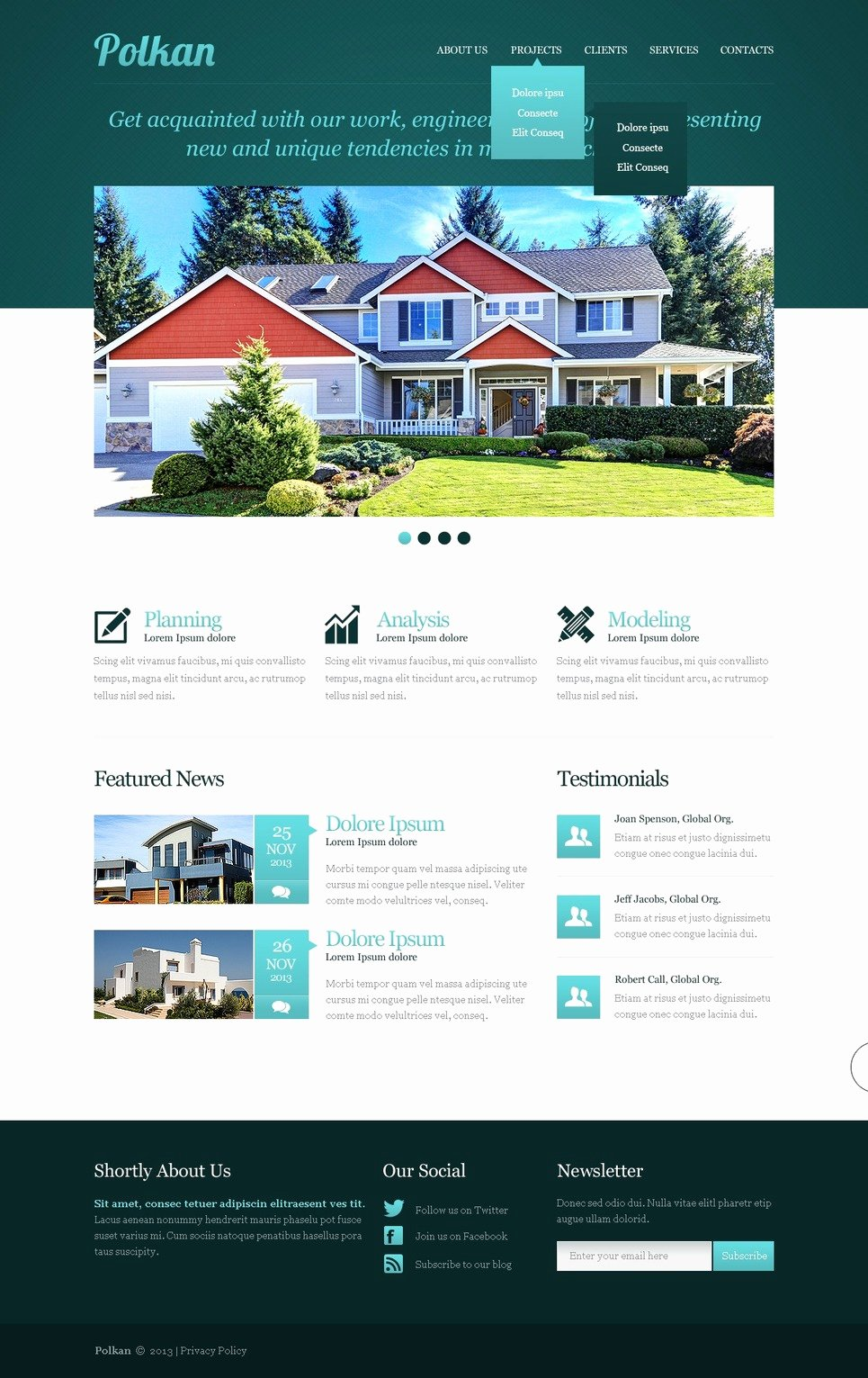 Real Estate Website Templates Best Of Real Estate Agency Responsive Website Template
