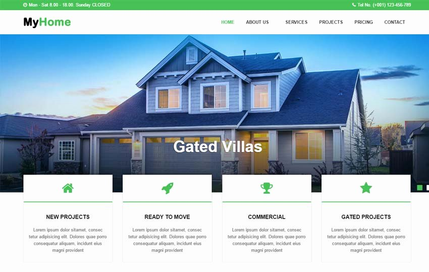 Real Estate Website Templates Best Of Real Estate Website HTML Template Free Download