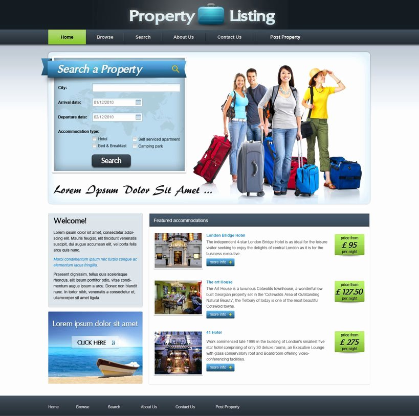Real Estate Website Templates Inspirational Real Estate Website Template